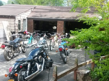 Hourly: DIY Home Garage Auto & Motorcycle Weekdays  Hourly Rate