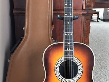 Selling: Ovation Legend vintage acoustic/electric  w/case