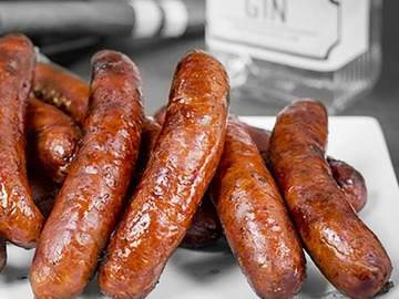 Online Listing:  Prime GIN-ister Brats - 10 Pounds