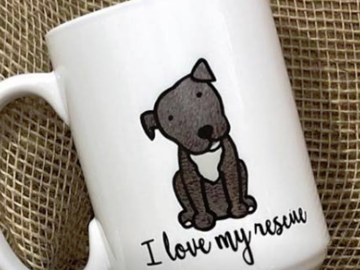 Selling: Rescue Dog Mug