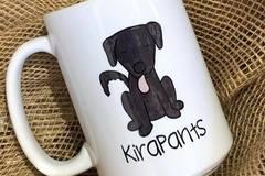 Selling: Personalized Dog Mug