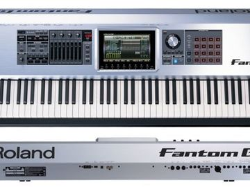 Renting out: Roland Fantom Workstation (88-keys)