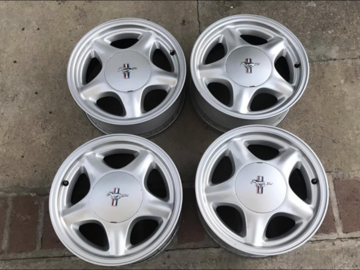 Selling with online payment: Mustang Pony Wheels