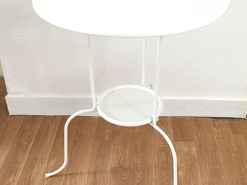 Selling: White side table IKEA