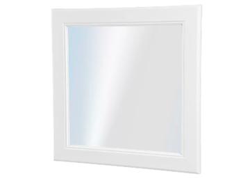 Selling: White 30 x 30 cm mirror
