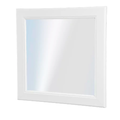 Selling: White 30 x 30 cm mirror