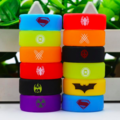 Buy Now: Custom Vape Rubber Silicone Band - Superhero Logos (1000)