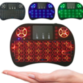 Buy Now: Colorful Backlight Wireless Touchpad Keyboard Multi Function