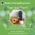 Event Listing: Pour and Plant!