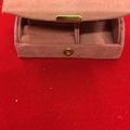 Liquidation Lot: 100 pcs-- Pink Suede Jewelry Travel Box-- $ .99 pcs