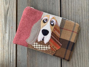 Selling: Basset Hound Dog Travel Bag, Pet Lover Gift, Dog Purse