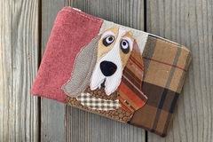 Selling: Basset Hound Dog Travel Bag, Pet Lover Gift, Dog Purse