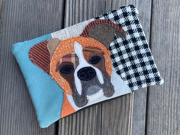 Selling: Boxer Dog Travel Bag, Pet Lover Gift, Dog Purse