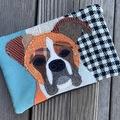 Selling: Boxer Dog Travel Bag, Pet Lover Gift, Dog Purse
