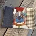 Selling: Jack Russell Terrier Dog Bag, Pet Lover Gift, Dog Purse