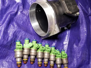 Selling without online payment: 42lb Injectors with Maf