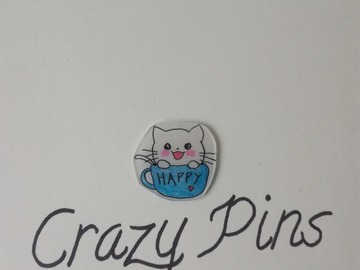 Sale retail: PIN'S CHAT KAWAII