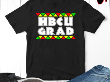 Selling with online payment: HBCU Grad Black College T-Shirt