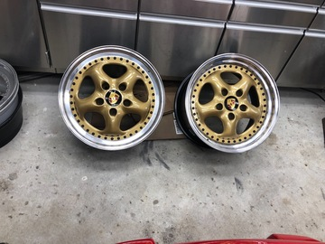 Selling: Porsche ETA Beta Cup II's. Freshly refinished