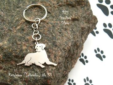 Selling: Keyring Labrador * 925 sterling silver