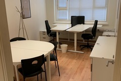 Vuokrataan: Rauhallinen kalustettu toimistohuone loistavalla sijainnilla!