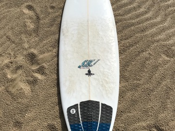 "For Rent: 6'2"" Surfboard"