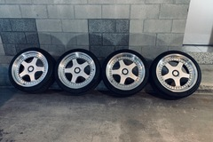 "Selling: Hamann PG1  by O.Z. Racing  18x8.5"" and 18x9"" with Tires and TPMS"