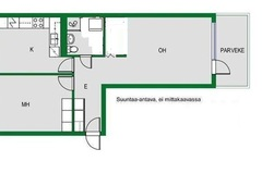 Annetaan vuokralle: Family apartment for rent from June and July (2 months)