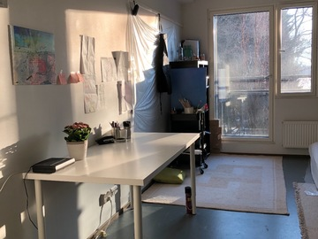 Renting out: Subletting Studio Flat (29m2) for 2 months in Otaranta, Otaniemi