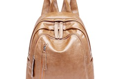 Buy Now: PU/Faux/Vegan Leather Backpack Purse For Women