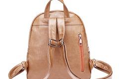 Liquidation Lot: (130) PU/Faux/Vegan Leather Backpack Purse For Women