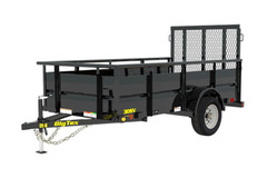 Renting out equipment (w/ operator): Landscape trailers / various sizes