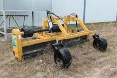 Renting out equipment (w/ operator): 5 ft. Harley Rake attachment for a tractor