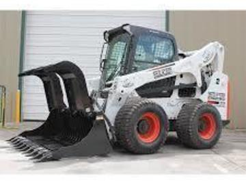 Renting out equipment (w/ operator): Brush clamp attachment for a tractor