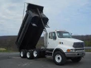 Renting out equipment (w/ operator): 06 International Dump Truck