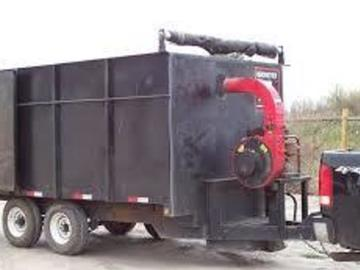 Offering services: Vacuum trailer with truck