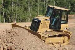 Renting out equipment (w/ operator): Dozer with operator delivered to your location.