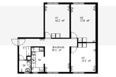 Annetaan vuokralle: A room in shared apartment for rent