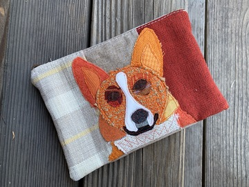 Selling: Corgi Dog Bag, Pet Lover Gift, Dog Purse, Travel Bag