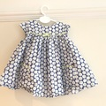 Selling with online payment: Daisy Dress, age 3-6 Mths