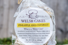 Online Listing: Pineapple and Coconut Welsh Cakes - 12 Packs of 6