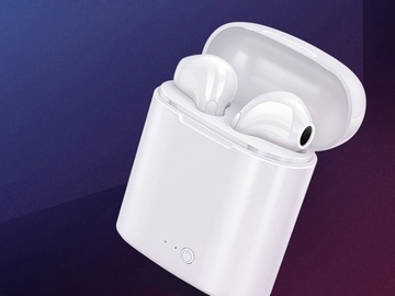 Buy Now: i7s Bluetooth earbuds