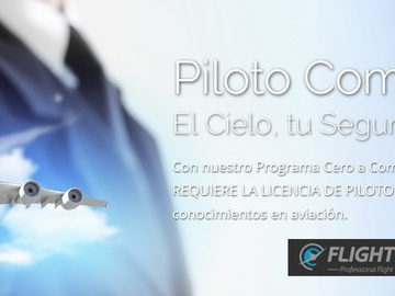 Suppliers: Flightmex - Cursos para Piloto Comercial
