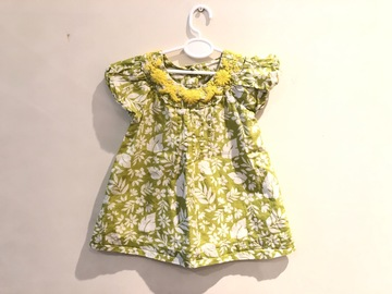 Selling with online payment: Rocha Dress, age 3-6 Mths