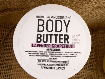 Selling with online payment: Lavender Grapefruit Body Butter 2 oz