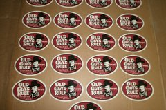 "Buy Now: 50 OLD GUYS RULE JOHN WAYNE ""A MANS GOT TO DO"" STICKERS"
