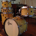 for pickup only: Vintage 60s Gretsch Roundbadge Drum Kit