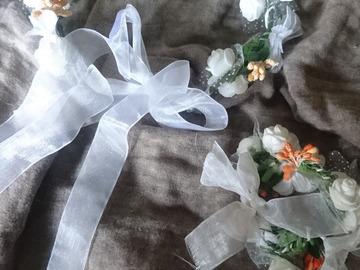 Ilmoitus: Kukkaistytön seppeleet ja käsikoristeet