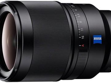 Vermieten: SONY E FF 35mm f/1.4 Zeiss