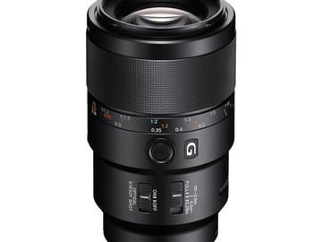 Vermieten: SONY E FF 90mm f/2.8 G Makro